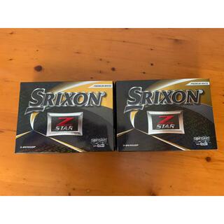 Srixon - スリクソン Z-STARゴルフボール[プレミアムホワイト]2ダース