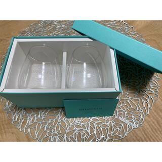 Tiffany & Co. - ティファニー ペアグラス タンブラー ロゴ 新品未使用