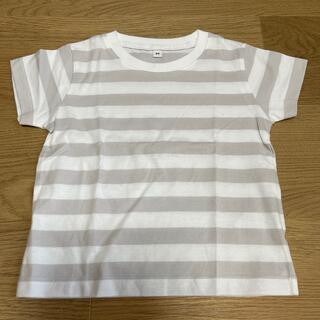 ムジルシリョウヒン(MUJI (無印良品))の無印良品 ボーダーTシャツ 80センチ(Tシャツ)