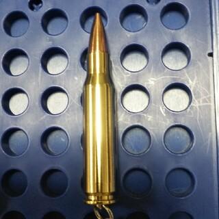 弾丸キーホルダー 308Win (使用済ケース  )(その他)