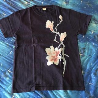rough - rough  和柄Tシャツ