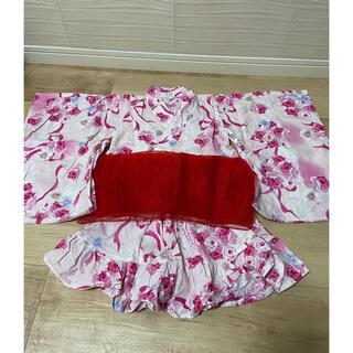 ニシマツヤ(西松屋)の浴衣ドレス♡100(甚平/浴衣)