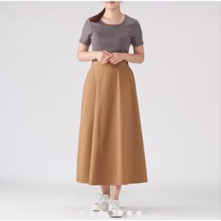 ムジルシリョウヒン(MUJI (無印良品))の無印良品 イージーフレアースカート(ロングスカート)