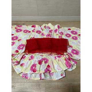 ニシマツヤ(西松屋)の浴衣ドレス 甚平 110(甚平/浴衣)