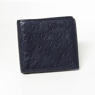Gucci - 【グッチ/GUCCI】GG 2つ折り財布 ブラック 146223・0416