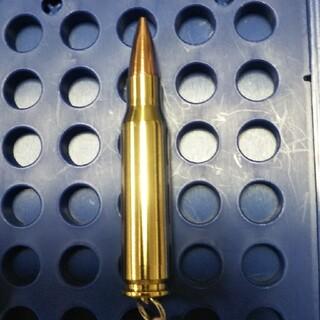 弾丸キーホルダー  308Win ( 使用済ケース)(その他)