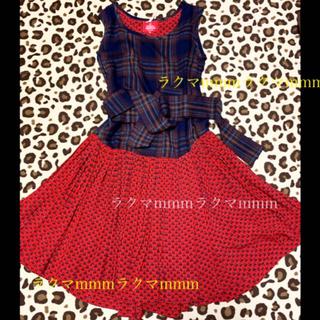 ヴィヴィアンウエストウッド(Vivienne Westwood)のヴィヴィアンウエストウッド ワンピース (ひざ丈ワンピース)