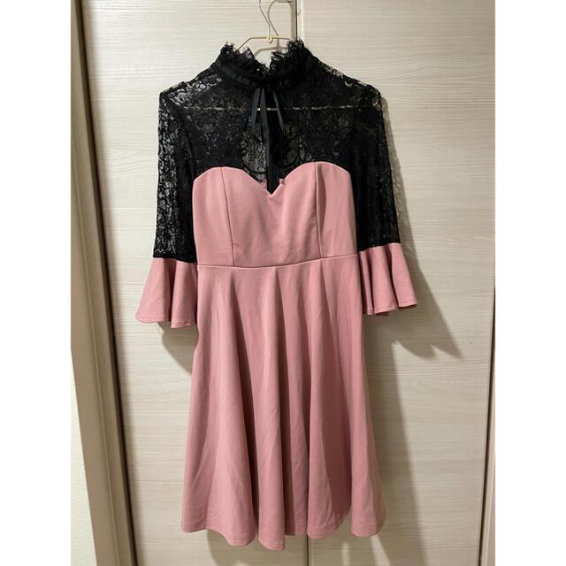 dazzy store(デイジーストア)の★未使用★キャバドレス ピンク レディースのフォーマル/ドレス(ナイトドレス)の商品写真