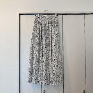 グレイル(GRL)の【GRL】ベルト付きダルメシアン柄プリーツスカート[gc22](ひざ丈スカート)