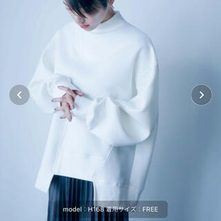 Ameri VINTAGE - ANT  ダンボールニット切替スウェットトップス 完売品
