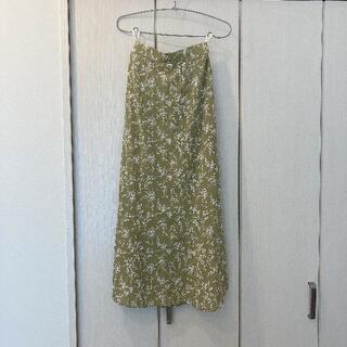 グレイル(GRL)の【GRL】小花柄マーメイドフレアスカート[gc31](ひざ丈スカート)