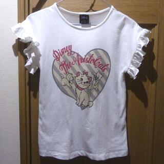 GU - ディズニー おしゃれキャット Tシャツ サイズ150 <896>