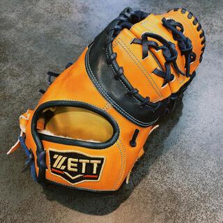 ZETT - 【軟式】ZETT プロステイタス オーダーファーストミット 【鈴木刻印あり】