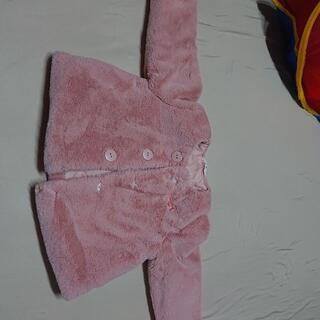 ニシマツヤ(西松屋)の西松屋 キッズ ベビー 女の子 上着 もこもこ ピンク 95(ジャケット/上着)