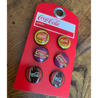コカコーラ(コカ・コーラ)の新品・未使用☆コカコーラ ピアス 3セット(ピアス)