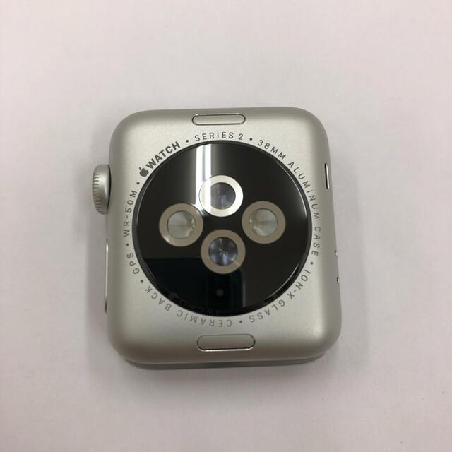 Apple Watch(アップルウォッチ)のApple Watch series2 シルバー 38mm アップルウォッチ スマホ/家電/カメラのスマートフォン/携帯電話(その他)の商品写真