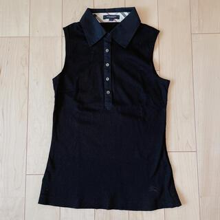 バーバリー(BURBERRY)の【美品】♡バーバリーロンドン♡袖なしポロシャツ♡(ポロシャツ)