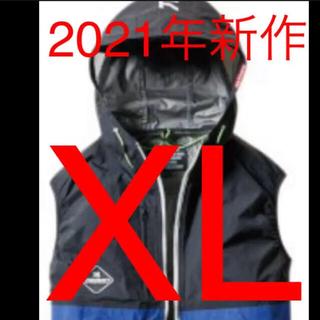 バートル(BURTLE)の新品 バートル 空調服 エアークラフト AC1084  サーフブルー(ベスト)