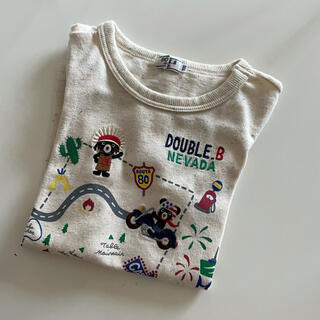 DOUBLE.B - ダブルビー Tシャツ110サイズ