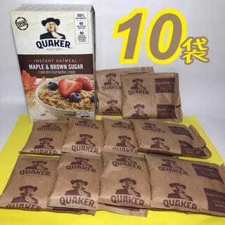 《クエーカー》インスタントオートミール 1箱=(43g×10袋)(ダイエット食品)