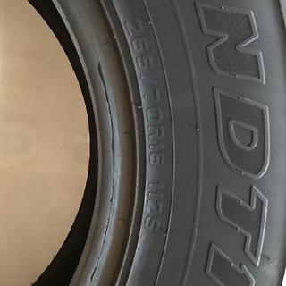 ダンロップ(DUNLOP)のDUNLOP  GRANDTREK  AT3 265 70R 16(タイヤ)