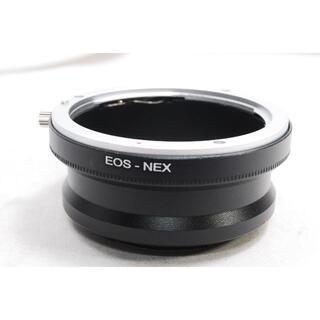 ソニー(SONY)の【新品】Canon EOS EFレンズ ⇒SONY NEX マウントアダプター (その他)