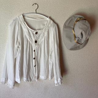 TOMORROWLAND - オンプ⭐️ガーゼレース羽織り