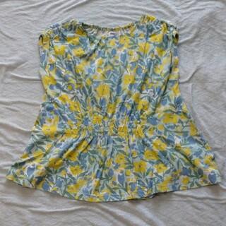 ブリーズ(BREEZE)のBREEZE 花柄フレンチチュニック(140cm)(Tシャツ/カットソー)