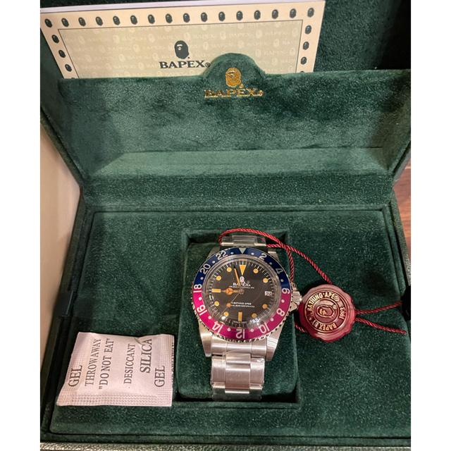 A BATHING APE(アベイシングエイプ)のA BATHING APE BAPE BAPEX® VINTAGE TYPE 2 メンズの時計(腕時計(アナログ))の商品写真