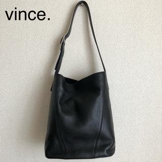 Vince - vince. レザーショルダーバッグ (ブラック)