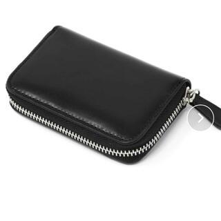 ディーゼル(DIESEL)の MURA ラウンドファスナー コードバン調/カーボン レザー コインケース(財布)