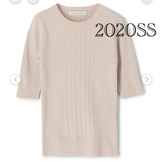ESTNATION - 人気完売品 2020SS エストネーション レーヨンリブハースリーブ