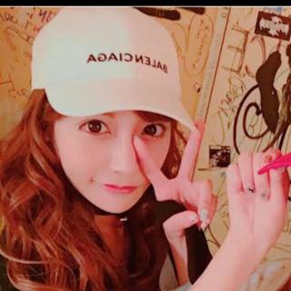 Balenciaga - 正規品♡明日花キララ愛用♡バレンシアガ♡L58♡キャップ♡帽子♡