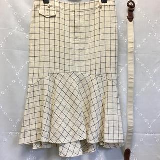 ポロラルフローレン(POLO RALPH LAUREN)の値下げ❗️ラルフローレン マーメイドスカート 新品未使用 麻100% 裏布シルク(ひざ丈スカート)