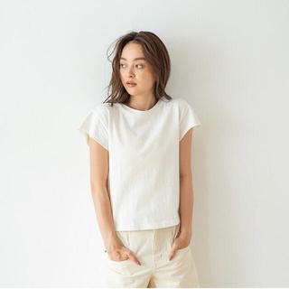 シールームリン(SeaRoomlynn)のサークルネックTシャツ ホワイト(Tシャツ(半袖/袖なし))