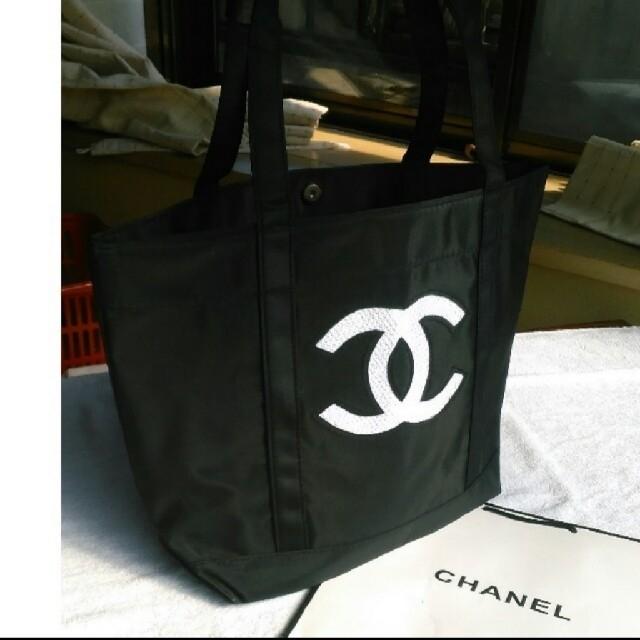 CHANEL(シャネル)の値下げ💴⤵️ CHANEL スパンコールトートバッグ レディースのバッグ(トートバッグ)の商品写真