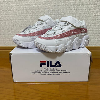 FILA - FILA バリケード キッズ 19センチ