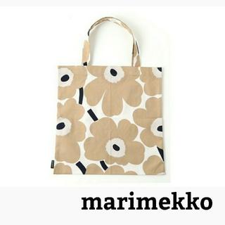 marimekko - 【新品】マリメッコ  marimekko トートバッグ ウニッコ ベージュ