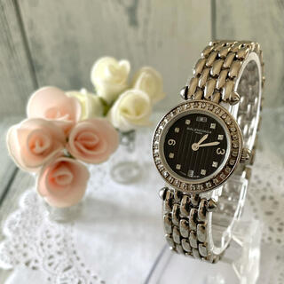 Balenciaga - 【希少】BALENCIAGA バレンシアガ 腕時計 ラインストーン シルバー