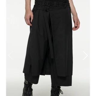 ヨウジヤマモト(Yohji Yamamoto)の《Ground Y》定番ギャバWrap Pants ラップパンツ yohji(その他)