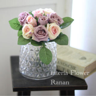 gift flower❁✿✾お花を飾りましょう🎵mix Rose(その他)