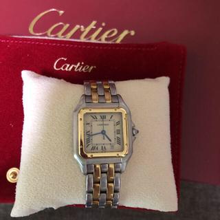 Cartier - カルティエパンテール2ロウMMデイト付き。OHコンプリートサービス済み
