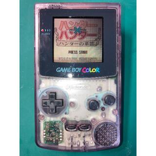 ゲームボーイ(ゲームボーイ)のゲームボーイカラー 本体 動作品(携帯用ゲーム機本体)