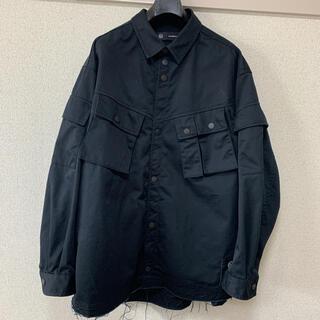 UNDERCOVER - GU UNDERCOVER ミリタリージャケット XL ブラック 黒