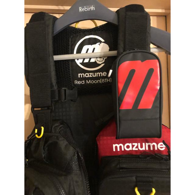 MZLJ-401 mazume レッドムーンライフジャケット VIII ブラック スポーツ/アウトドアのフィッシング(ウエア)の商品写真