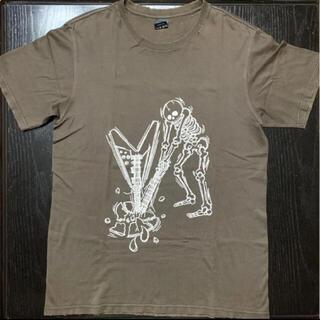 ナンバーナイン(NUMBER (N)INE)のナンバーナイン ダメージ加工 Tシャツ サイズ3 宮下期(Tシャツ/カットソー(半袖/袖なし))
