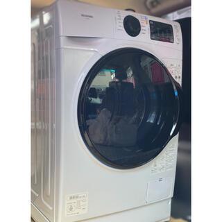 アイリスオーヤマ - ドラム式洗濯機 8.0kg ホワイト FL81R-W