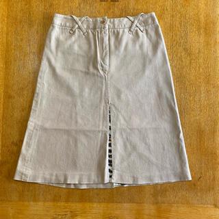 ドルチェアンドガッバーナ(DOLCE&GABBANA)のDOLCE&GABBANA ベージュ ストレッチスカート ⑤(ひざ丈スカート)