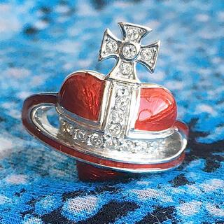 ヴィヴィアンウエストウッド(Vivienne Westwood)の最安値 復刻版 ディアマンテハートリング M(リング(指輪))