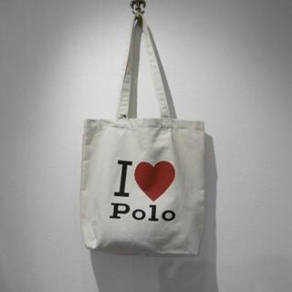 POLO RALPH LAUREN - 新品 ポロ ラルフローレン 『I LOVE POLO』 コットン トートバッグ